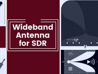 Wideband antenna for SDR